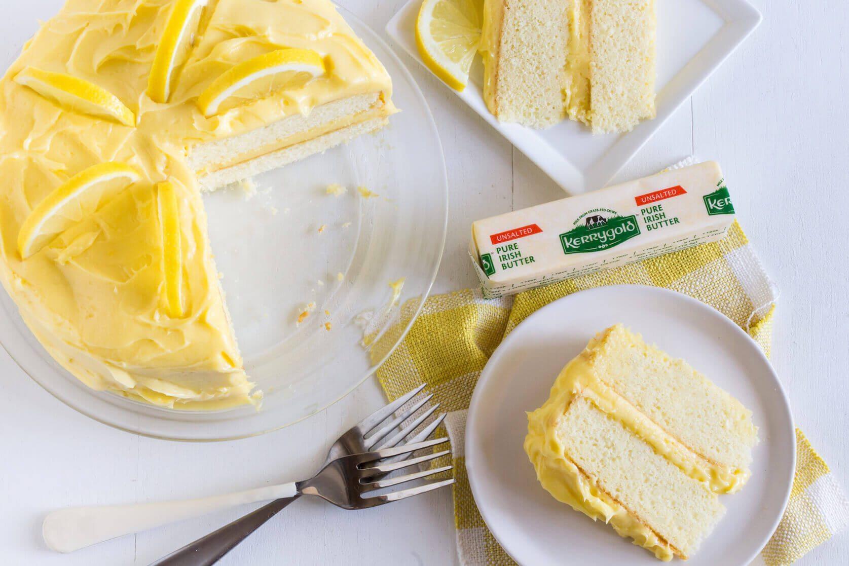 Kerrygold Lemon Butter Cake